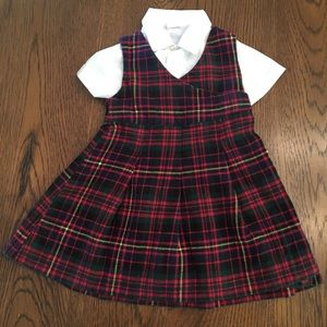 Ralph Lauren Plaid Dress - Holiday / Classic